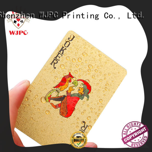 WJPC good looking custom plastic cards manufacturers for children