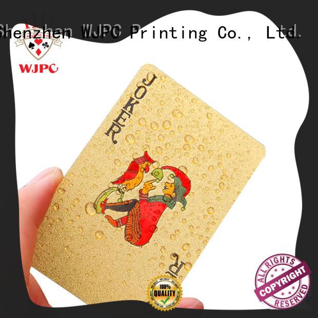 WJPC good looking custom plastic cards manufacturers for children