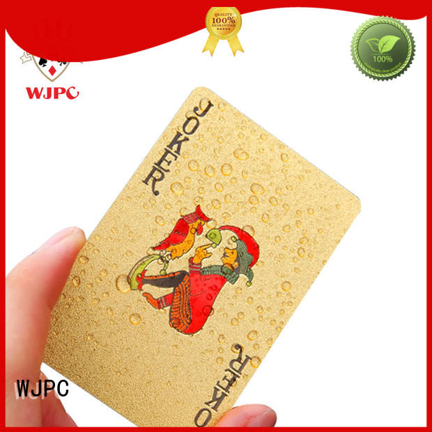 full poker cards plastic for party WJPC