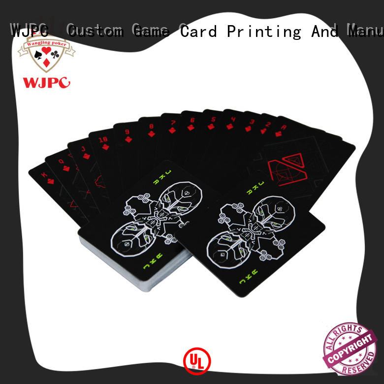 WJPC high-quality cardistry cards factory for board game