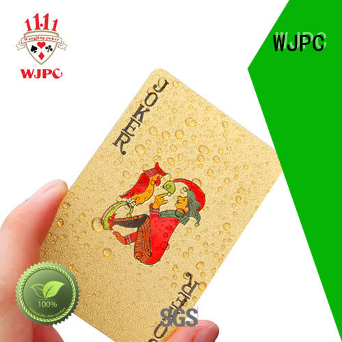 WJPC customed custom playing cards newly for children