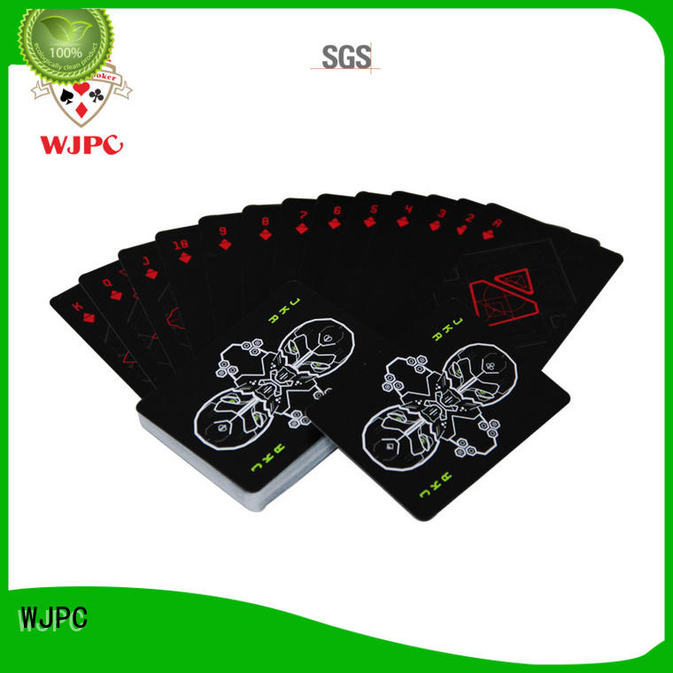 easy to operate custom poker playing cards playing company for game