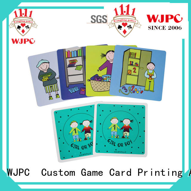 WJPC high reputation english flashcards for kids qulity for kindergarten