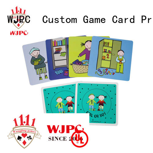 WJPC educational learning card manufacturers for school