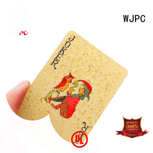 playing relax poker cards color WJPC