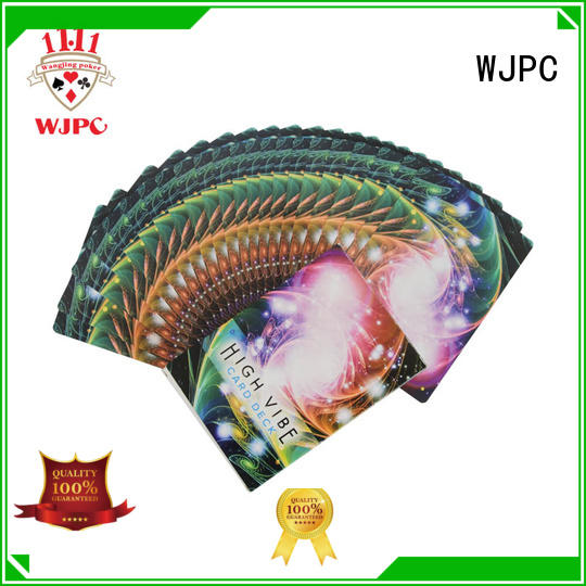 WJPC customized printing oracle cards company for game