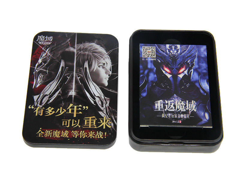 game custom game card printing paper WJPC