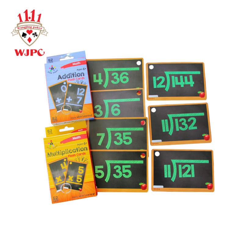 WJPC hot sale kids flash cards producer for children-printing cards manufacturer-printing playing ca-1