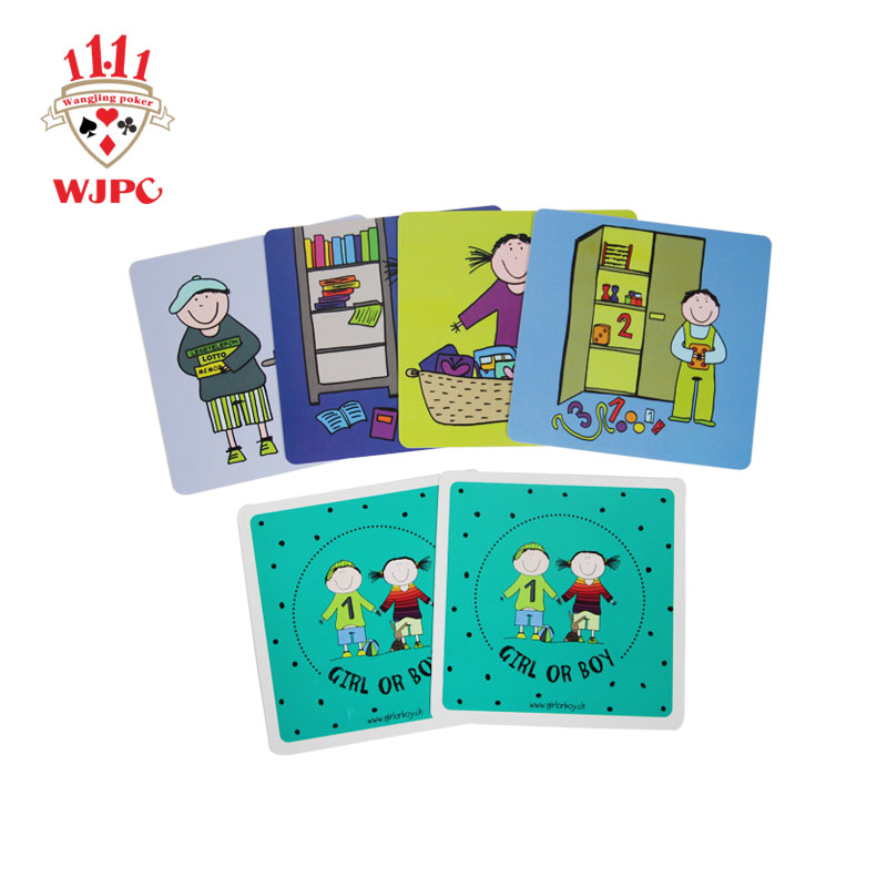 WJPC qulity educational flash cards Supply for children-1
