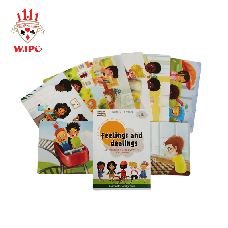 WJPC hot sale kids flash cards producer for children-printing cards manufacturer,printing playing ca-1