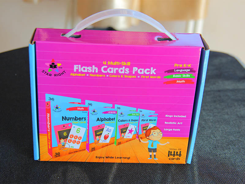 WJPC qulity educational flash cards Supply for children