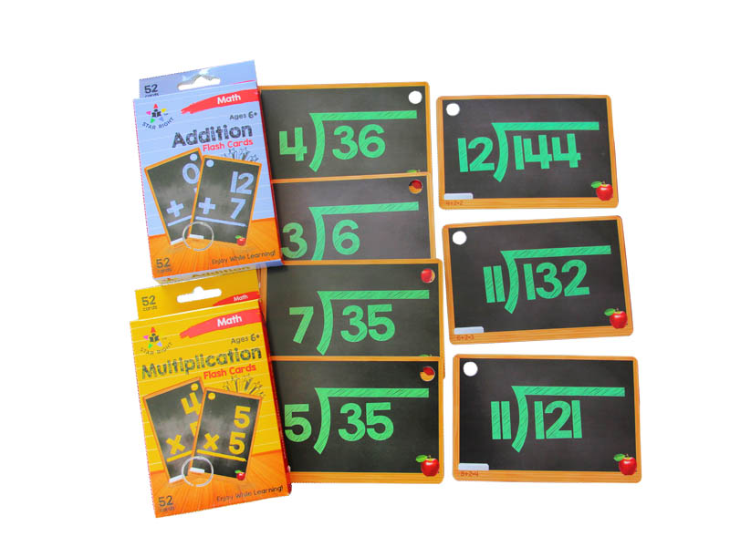 High Qulity Educational Flash Cards-WJPC-img