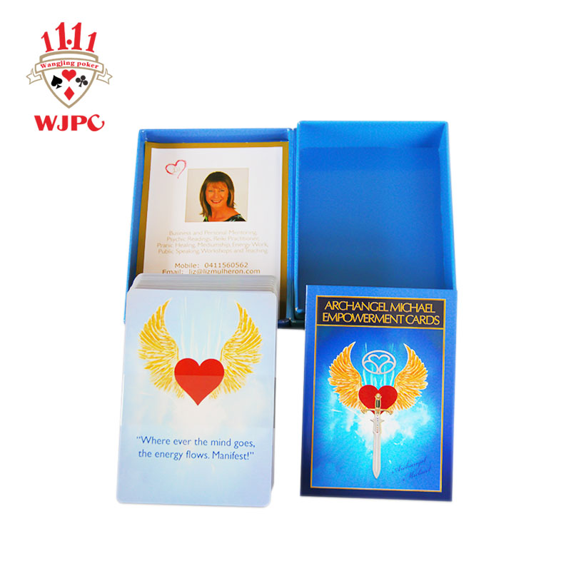 custom oracle cards oracle WJPC-printing cards manufacturer-printing playing cards-tarot cards print-1