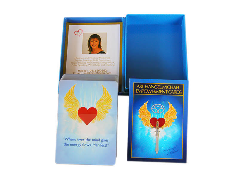 WJPC customed oracle card cards