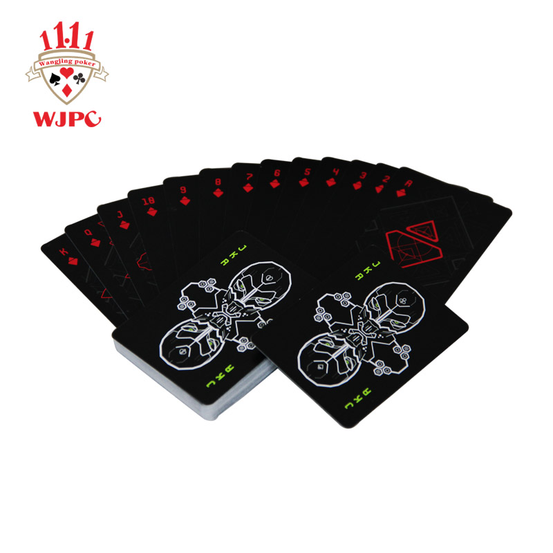WJPC playing hard plastic playing cards Supply for bar-1