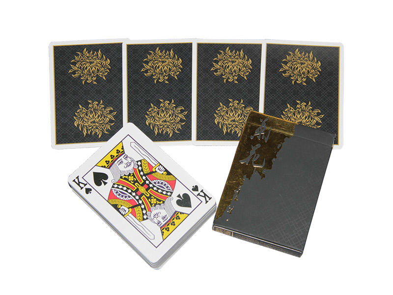 fashion plastic poker cards wholesale cardistry manufacturers for board game
