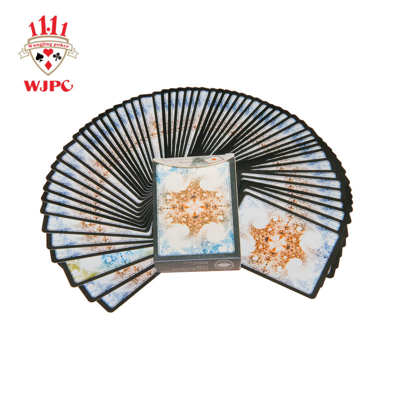 WJPC printing magic poker card producer for children-1