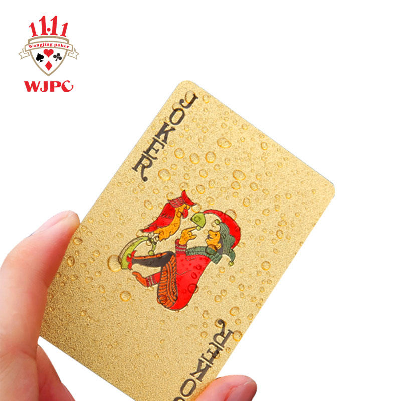 Full Color Waterproof plastic Playing Cards