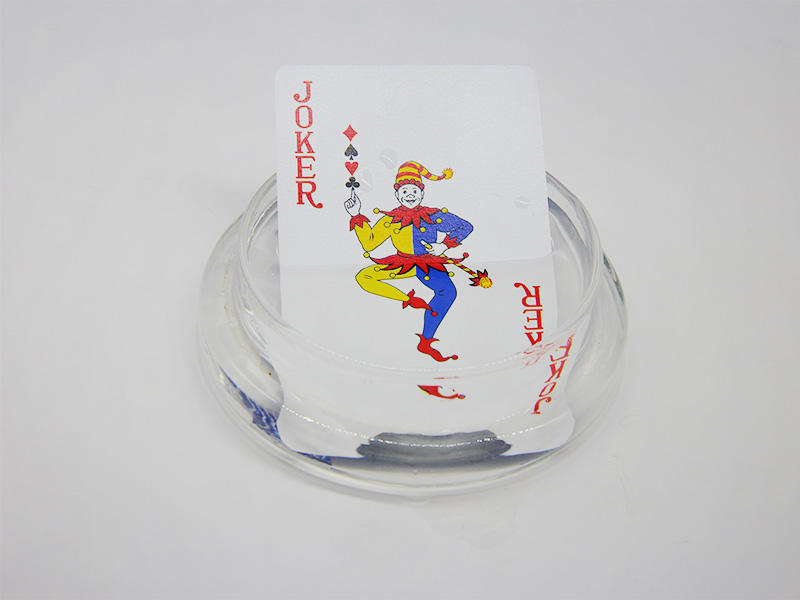 WJPC plastic plastic poker cards bulk produtcion for children