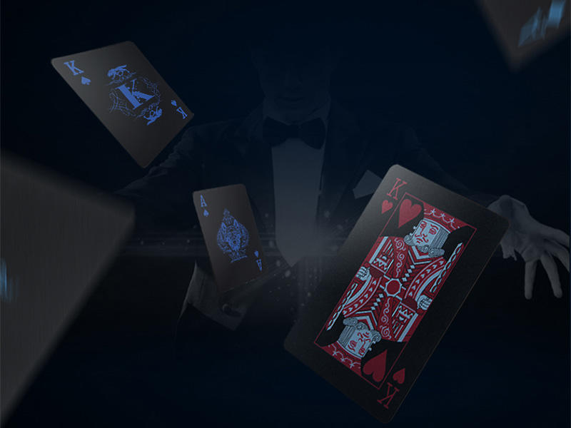 good looking poker cards full environmentally friendly for board game