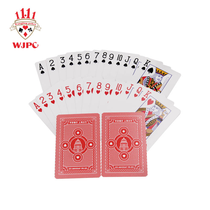 Wholesale promotional poker cards logo Suppliers for kindergarten-1