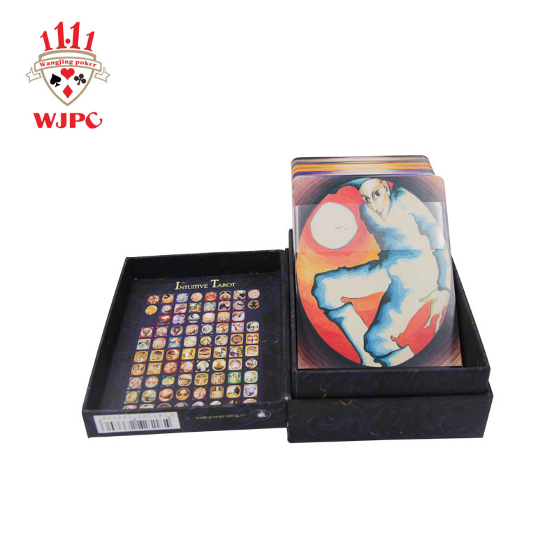 video-semi-glossy tarot cards with book customized Supply for game-WJPC-img-1