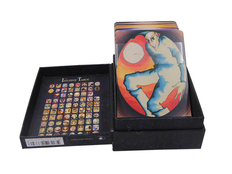 WJPC durable tarot deck cards customized for game