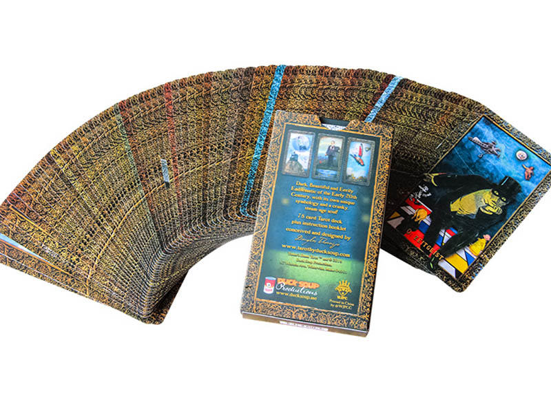 WJPC professional custom tarot cards customized for game