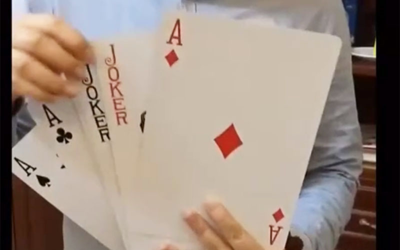 Huge Playing Cards-WJPC