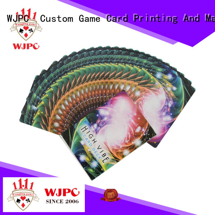 WJPC customized printing oracle cards Supply