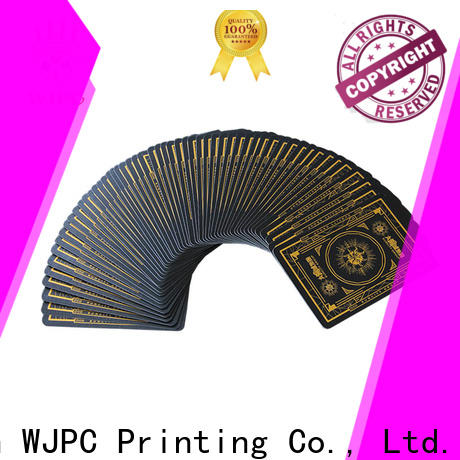WJPC core print your own deck of playing cards Supply for casino show