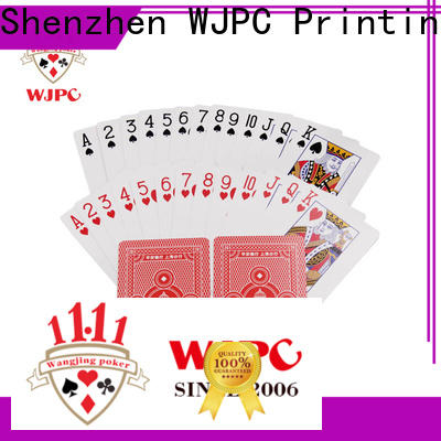 WJPC promotional nicest deck of cards Suppliers for children