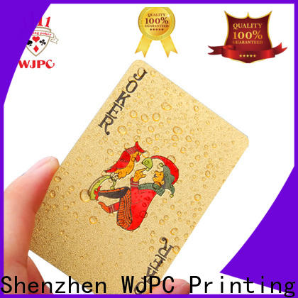 WJPC new arrival most expensive bicycle cards for sale for party