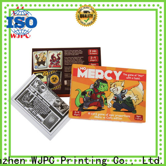 Custom custom card game printing cards Suppliers for game