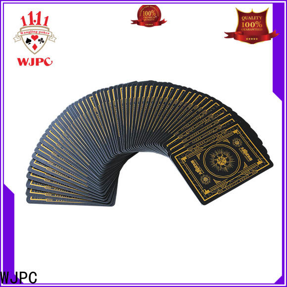 WJPC good looking casino quality cards company for game