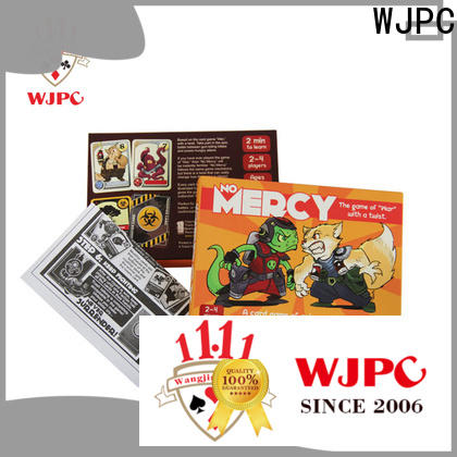 WJPC coated classic card games list for business for casino