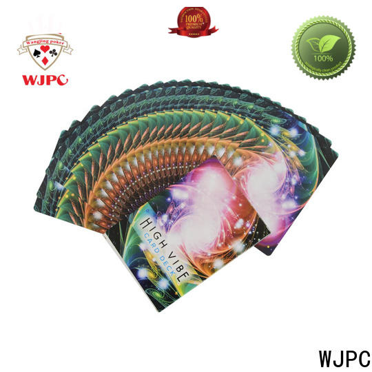 WJPC Wholesale custom oracle cards factory for kindergarten