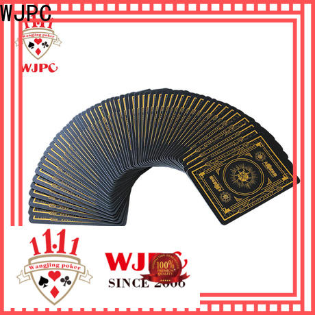 WJPC good looking casino cards for sale factory for casino show