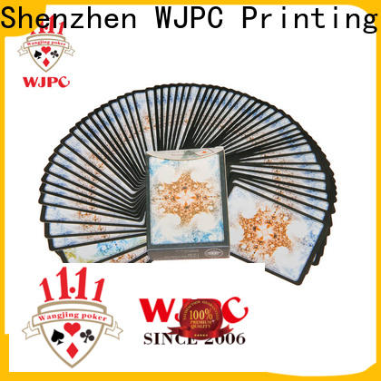 WJPC magic bicycle cards material Supply for game