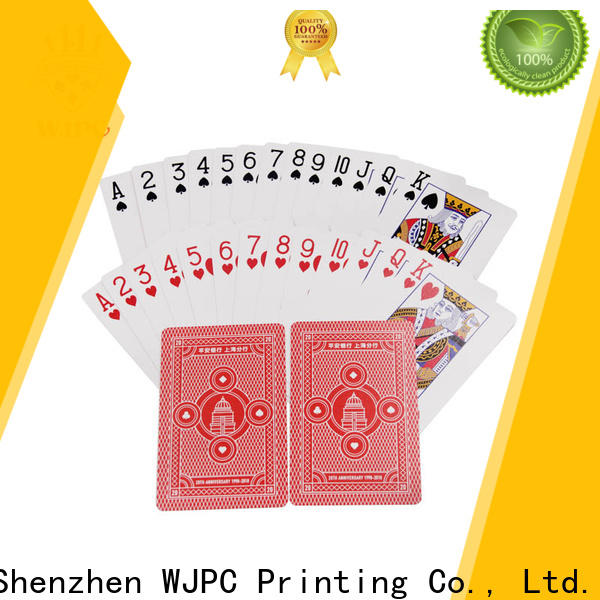 WJPC Top play poker card games factory for game