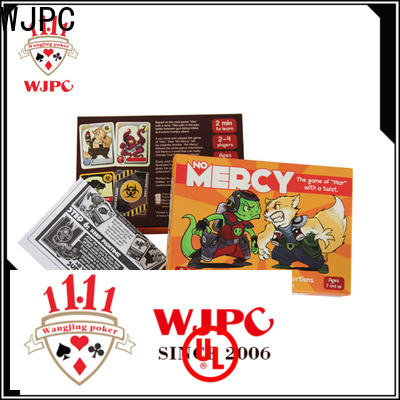 WJPC Latest well known card games Supply
