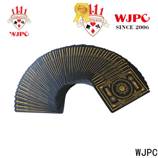 WJPC funny playing card size factory for game