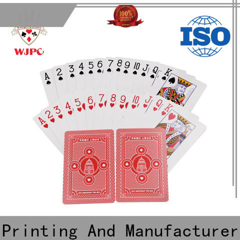 New personalised playing card set cards manufacturers for casino
