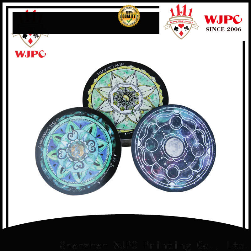 WJPC tarot custom tarot cards company for game