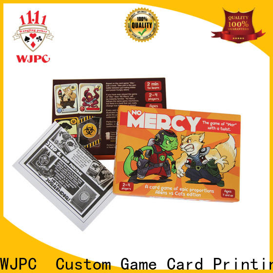 WJPC child-friendly well known card games Supply