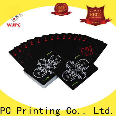 WJPC funny most expensive bicycle playing cards factory for board game
