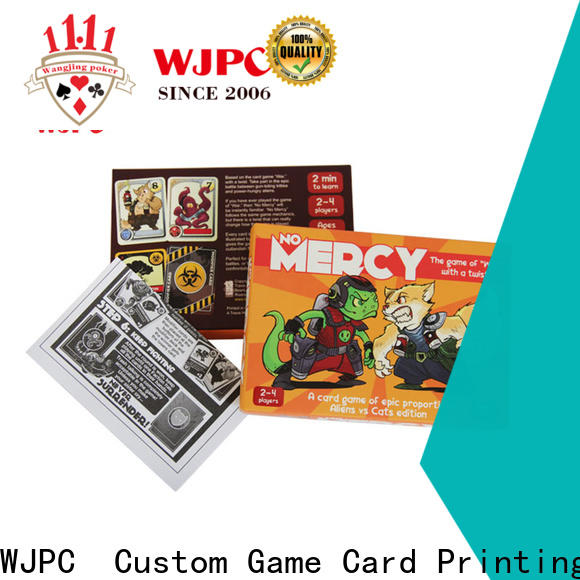 WJPC game classic card games list Supply for board game