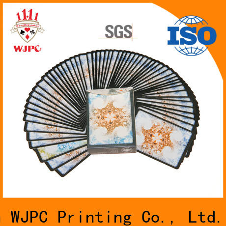 WJPC High-quality bicycle plastic poker cards Supply for magic