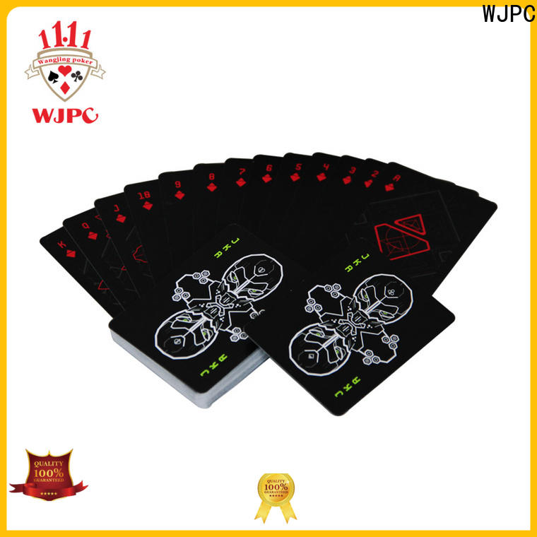 WJPC New poker playing cards for sale for business for bar