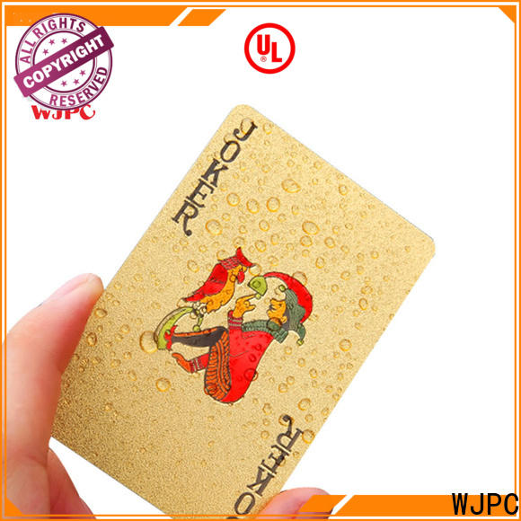 WJPC plastic where can i buy a deck of playing cards environmentally friendly for board game